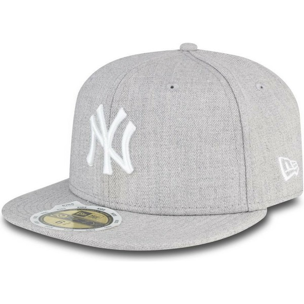 Gorra plana gris ajustada para niño 59FIFTY Essential de New York ... 511face5ed6