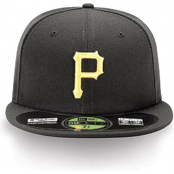 gorra-plana-negra-ajustada-59fifty-authentic-on-field-de-pittsburgh-pirates-mlb-de-new-era