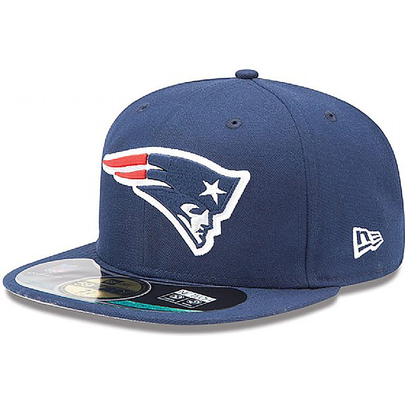gorra-plana-azul-ajustada-59fifty-authentic-on-field-game-de-new-england-patriots-nfl-de-new-era
