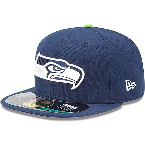 gorra-plana-azul-ajustada-59fifty-authentic-on-field-game-de-seattle-seahawks-nfl-de-new-era
