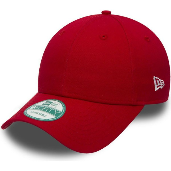 Gorra curva roja ajustable 9FORTY Basic Flag de New Era  comprar ... f5ced7cbe72
