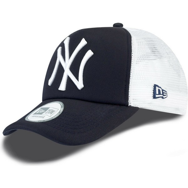gorra-trucker-azul-marino-clean-a-frame-de-new-york-yankees-mlb-de-new-era